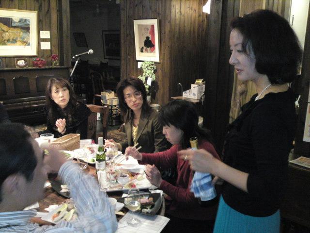 今日は「美子と恭子のワイントーク」(食べ歩き/扶桑)