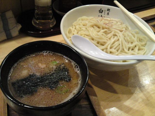 今日の晩ごはんは、「白神(はくしん)」さんの醤油つけ麺!(食べ歩き/関市)