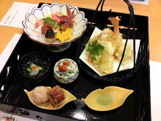 犬山ホテルの二階「有楽」さんで昼食(食べ歩き/犬山市)