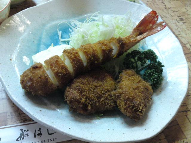 船さんとこの「牡蛎フライ」が始まったよ〜(食べ歩き/江南市)