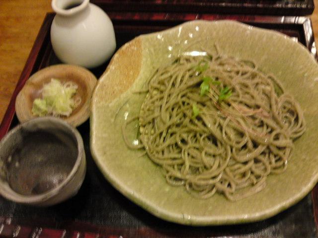 香り高い「桔香草(きっこうそう)」の蕎麦(食べ歩き/一宮市)
