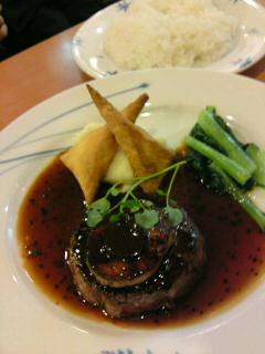 牛フィレ肉のロッシーニ風(食べ歩き/江南市)