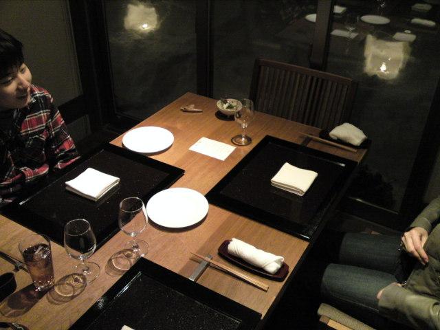 夕食が始まったよ〜(旅/南砺市)