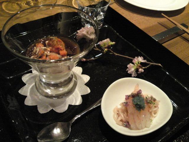 「薪の音」夕食その2(旅/南砺市)