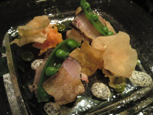 「薪の音」夕食その3(旅/南砺市)