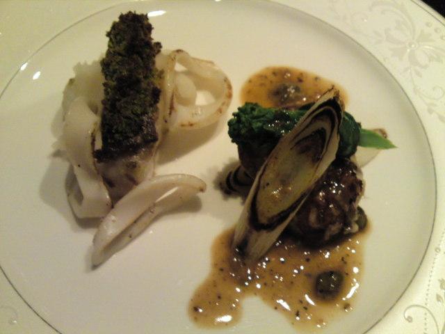 「薪の音」夕食その5(旅/南砺市)