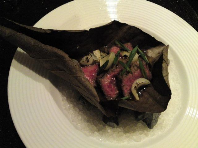 「薪の音」夕食その6(旅/南砺市)