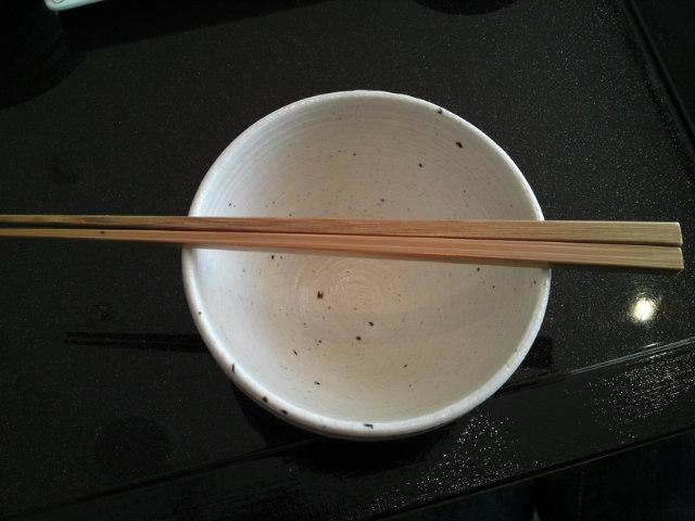「薪の音」の朝(食)。(旅/南砺市)