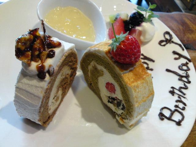新作ロールケーキ(食べ歩き/扶桑町)