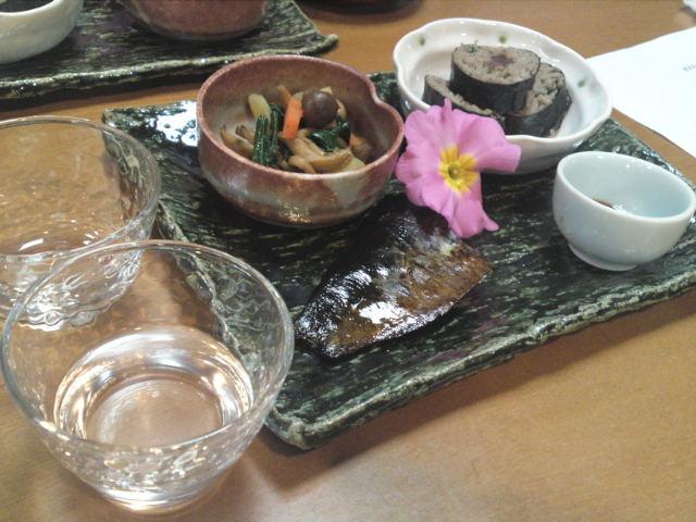 新酒と新蕎麦を楽しむ会(1)(取材中/一宮市)