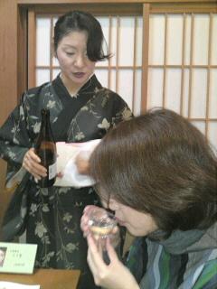 新酒と新蕎麦を楽しむ会(2)(取材中/一宮市)
