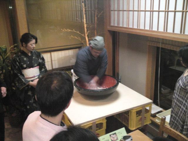 新酒と新蕎麦を楽しむ会(4)(取材中/一宮市)