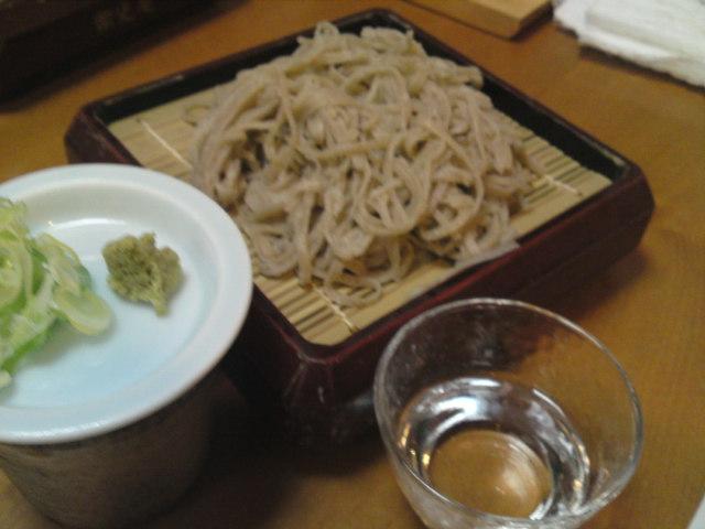 新酒と新蕎麦を楽しむ会(5)(取材中/一宮市)