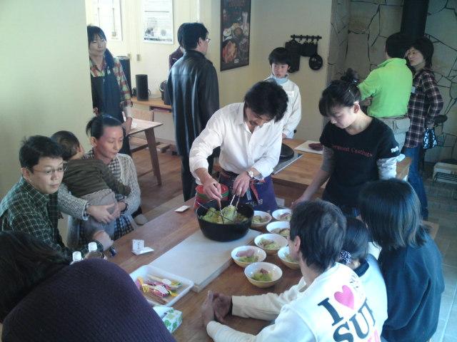 薪ストーブ料理試食会【3】(イベント/各務原)