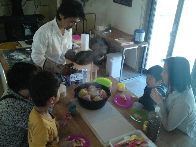 薪ストーブ料理試食会【1】(イベント/各務原)