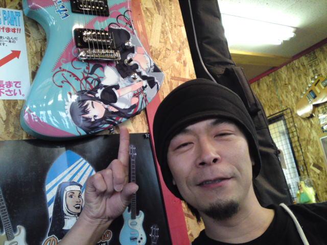 「けいおん!」のギター出来!(可児市)