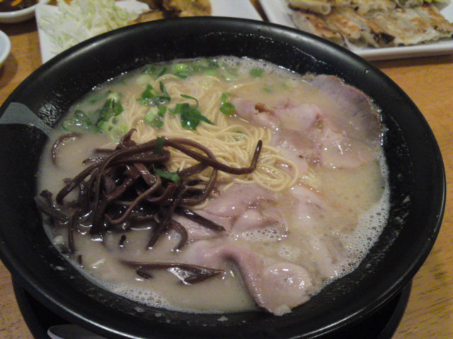 博多ラーメン「治朗」食べ納め(食べ納め/各務原市)
