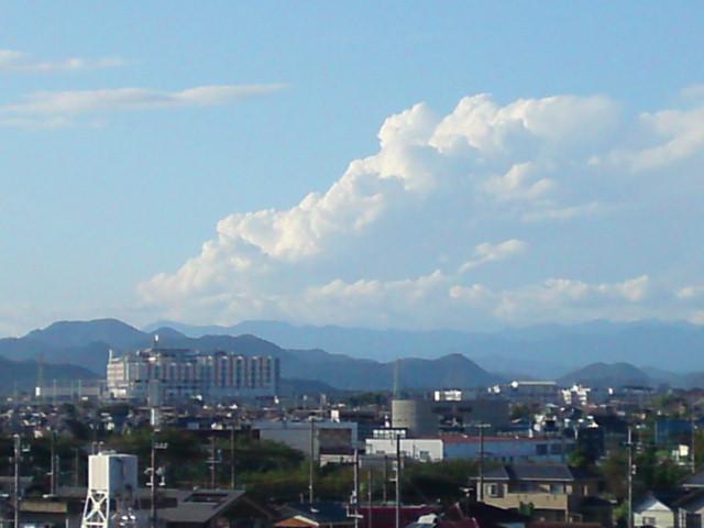 桜島みたいな金華山。