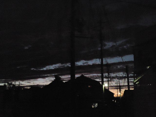 日没なう。
