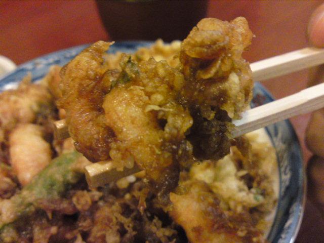 かき揚げ丼「光村」さん。(食べ歩き/北区)
