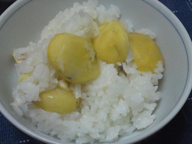 栗御飯(家メシ)