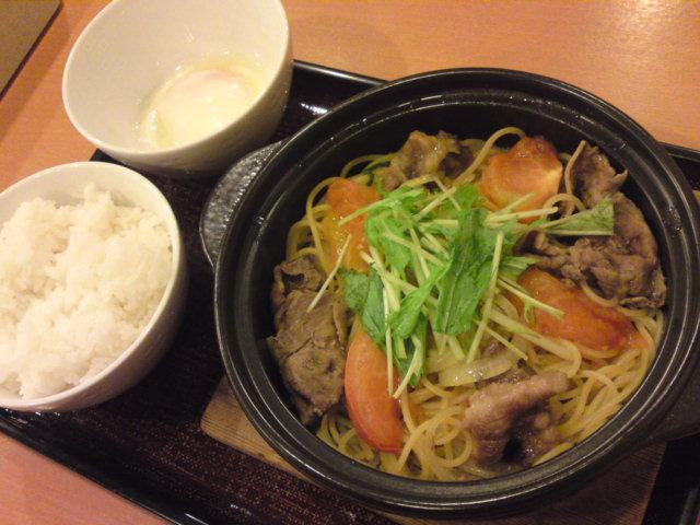 トマトのすき焼き(食べ歩き/江南市)