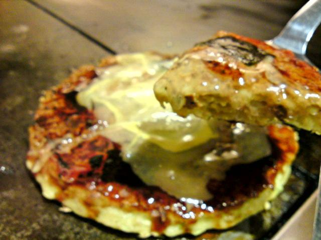 「ぼてふく」さんの牡蛎焼きそば、感謝。(食べ歩き/可児市)