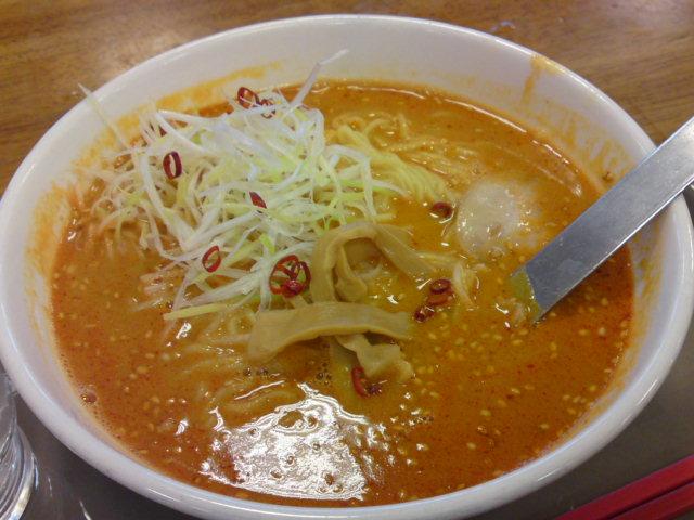 赤い担々麺(食べ歩き/大口町)