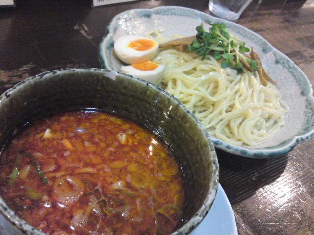 「如水」台湾つけ麺は…(食べ歩き/名古屋市東区)