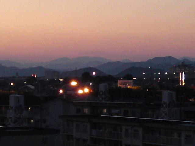 今日の金華山。