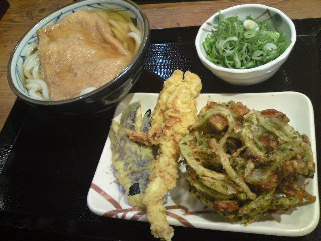丸亀製麺どのの新作かき揚げ(食べ歩き/江南市)