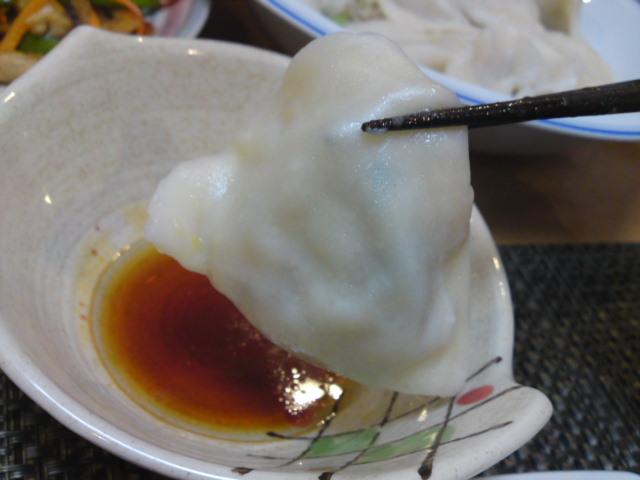 モランボン×ホワイト餃子(家メシ)