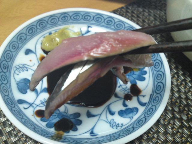 初物!秋刀魚。(家メシ)